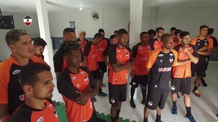 Jogadores do River-PI fazem treino em academia na primeira semana da pré-temporada; veja