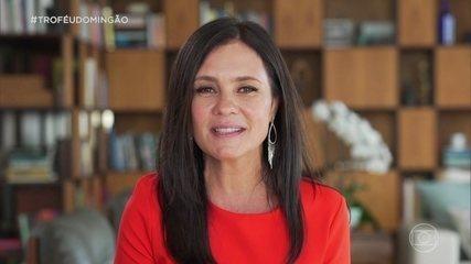 Adriana Esteves manda mensagem para o público