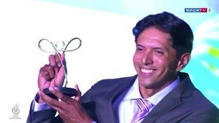 Melhor do Brasil! Luís Carlos Cardoso, da paracanoagem, recebe Prêmio Paralímpicos 2019