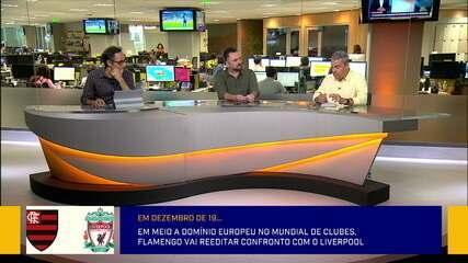 Bancada debate como o Flamengo deve enfrentar o Liverpool na final do Mundial
