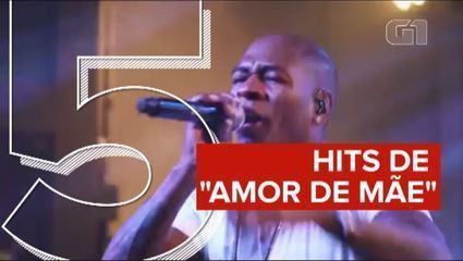 "Hits de trilha sonora da novela ""Amor de mãe"""