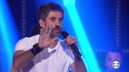 Eriberto Leão canta 'A Palo Seco'