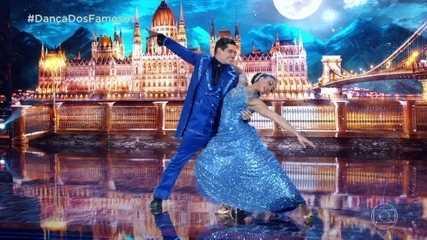 Dandara Mariana e Daniel Norton dançam valsa na final do 'Dança dos Famosos'