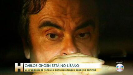 Executivo brasileiro Carlos Ghosn afirma que não fugiu do Japão