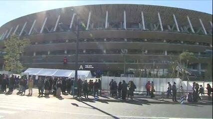 Veja como foi o primeiro evento-teste no Estádio Nacional para os Jogos de Tóquio