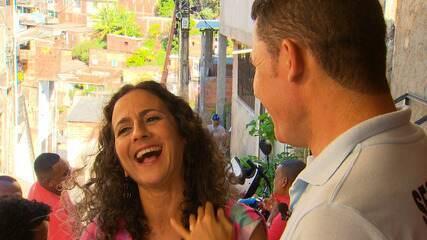 Maria Menezes conhece uma festa famosa do bairro do Beiru, em Tancredo Neves