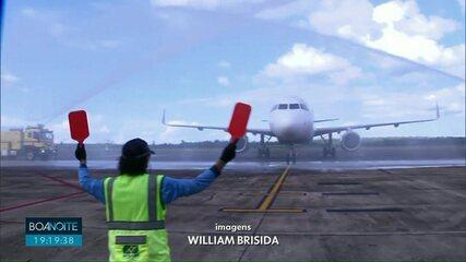 Novos voos no aeroporto internacional de Foz do Iguaçu