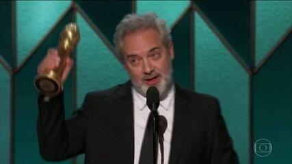 """""""1917"""" vence Globo de Ouro de melhor filme de drama e de melhor diretor."""