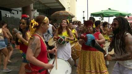 Mais de 60% dos blocos de carnaval do Rio de Janeiro ainda não têm licença para desfilar