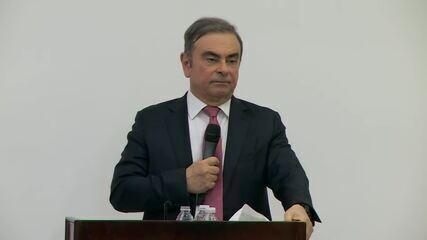 Carlos Ghosn diz que esperava mais ajuda do governo brasileiro ao justificar fuga