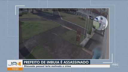 Prefeito de Imbuia, em SC, é assassinado a tiros; VÍDEO