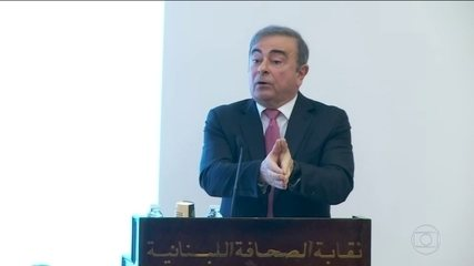 Carlos Ghosn é proibido de deixar o Líbano, segundo agências de notícias.
