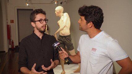 Curador da exposição 'Hiper-realismo no Brasil' fala da arte de Giovani Caramello