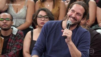 Vladimir Brichta fala sobre fazer par com Taís Araújo