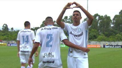 Diego Rosa marcou o único gol no 1 a 0 sobre o União ABC, na segunda fase