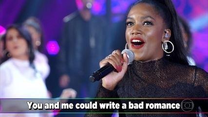 """IZA canta """"Bad Romance"""""""