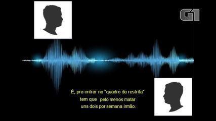 Suspeitos de integrar facções criminosas combinam homicídios e tráfico em áudios divulgado