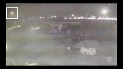 Vídeo mostra um segundo míssil atingindo avião ucraniano no Irã