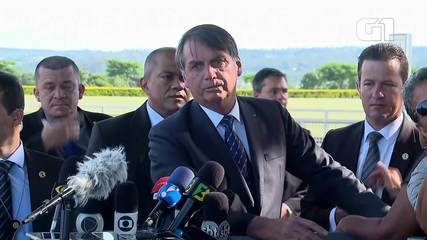 Bolsonaro afirmou que apoio dos EUA à entrada do Brasil na OCDE é notícia 'bem-vinda'