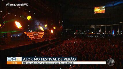 Alok substitui Clean Bandit e é uma das atrações confirmadas no Festival de Verão 2020