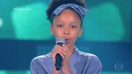 Luisa Martins canta 'Azul da Cor do Mar' nas Audições às Cegas