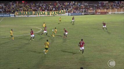 Picos vira em casa e vence River-PI na abertura do Campeonato Piauiense 2020