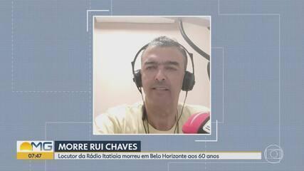 Locutor Rui Chaves morre em Belo Horizonte aos 60 anos