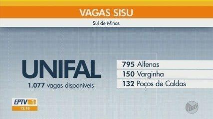 Confira as vagas disponíveis no Sul de Minas e como se inscrever pelo SISU