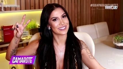 Bianca começou a ser chamada de Boca Rosa porque sempre usou muita maquiagem