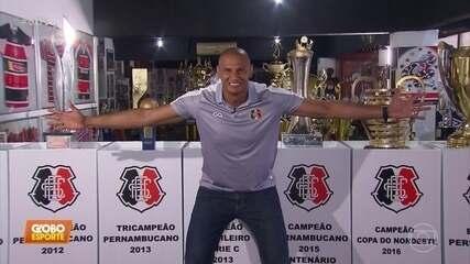 Ídolo do Santa Cruz, Tiago Cardoso relembra os feitos da carreira