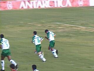 Guarani vence o Juventus na Javari por 4 a 1 em 1997