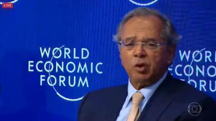 Paulo Guedes avalia que Brasil é uma fronteira de investimentos
