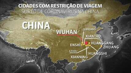 Surto de coronavírus: China confirma segunda morte fora do perímetro da doença