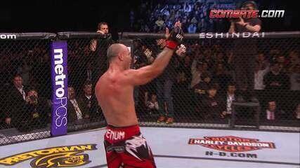 Melhores momentos da última luta de Wanderlei Silva no UFC
