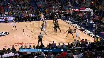 Melhores momentos de Denver Nuggets 113 x 106 New Orleans Pelicans pela NBA