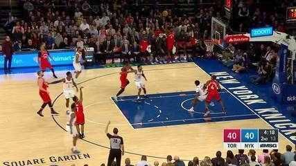 Melhores momentos de Toronto Raptors 118 x 112 New York Knicks pela NBA