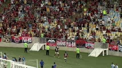 MelhoresmomentosdeFlamengo 3 x 2 Volta Redonda pela 3ª rodada do Campeonato Carioca