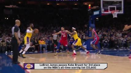 Melhores momentos: Philadelphia 76ers 108 x 91 Los Angeles Lakers pela NBA