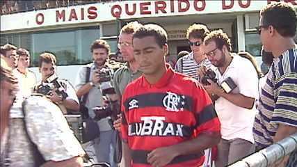 Operação resgate: relembre a época em que o Flamengo tirou Romário do Barcelona e ostentou o melhor jogador do mundo