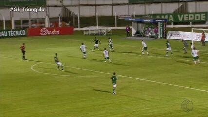 Uberlândia Esporte perde para a Caldense e segue sem vencer no Mineiro