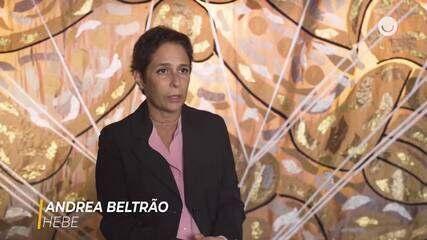 Andrea Beltrão fala sobre os bastidores da série 'Hebe'