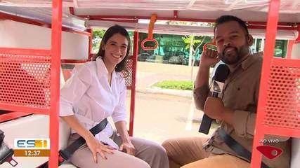 Tuk Tuks começam a circular no trânsito de Vitória a partir de quarta-feira (29)