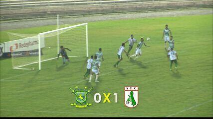 Reportagem sobre Sport-PB 0 x 1 Sousa