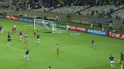 Veja o gol da vitória do Cruzeiro sobre o Villa Nova, pelo Mineiro