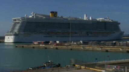 Itália barra chegada de cruzeiro por suspeita de coronavírus