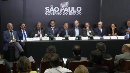 Governo de São Paulo anuncia plano de ação para conter o coronavírus