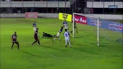 Veja os melhores momentos da vitória do Náutico por 2 a 0 sobre Freipaulistano