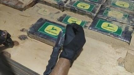 Carga de cocaína é apreendida no Porto de Itapoá