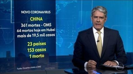 Números de mortos por novo coronavírus na China chega a 425