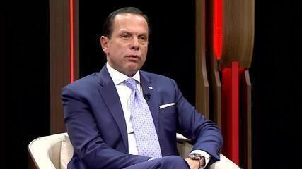 Doria critica Weintraub em entrevista ao GloboNews Política